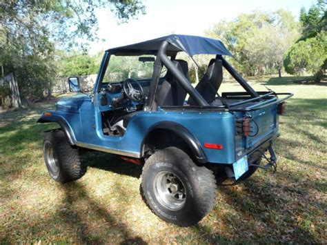Jeep Engine For Sale 1979 Cj5 Jeep With Original Amc 304 V8 Engine For Sale