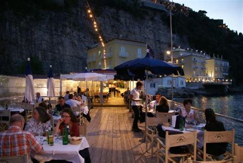 Bagni Delfino Sorrento by The Harbour From Our Table Picture Of Ristorante Bagni