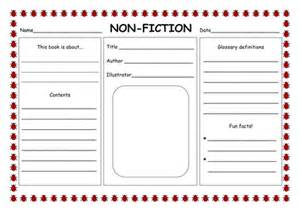 Non Fiction Book Report Template fiction amp non fiction powerpoint by hannahelizabethg uk teaching