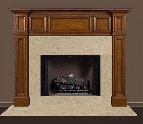 Custom Fireplace Surround And Mantel by Orland Custom Wood Fireplace Mantel Surround