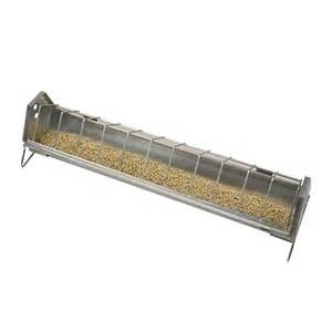galvanized trough