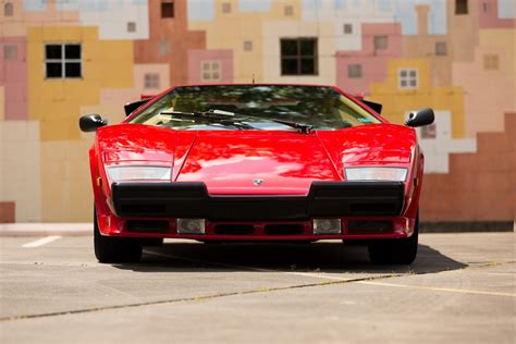 lamborghini countach 1987 lamborghini countach 5000 qv is up for auction