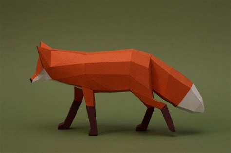 Animals Out Of Paper - we are a of artists who create lowpoly animals from