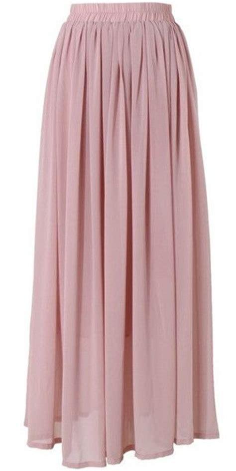 dusty maxi skirt