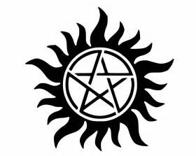 supernatural anti possession protection symbol decal