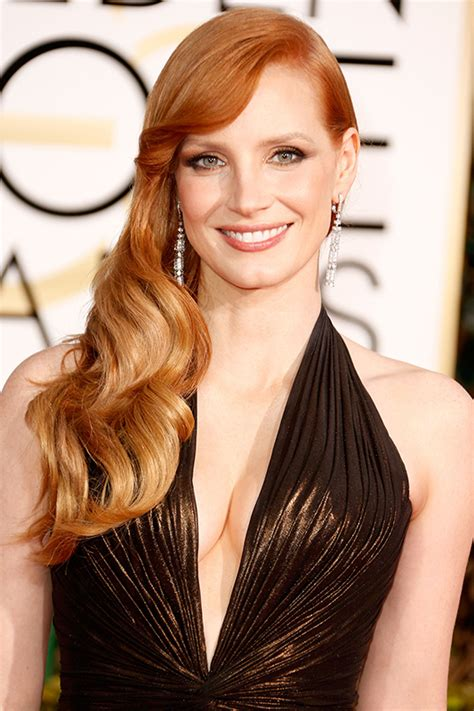 hair styles color for 2015 jessica chastain hair color 2015