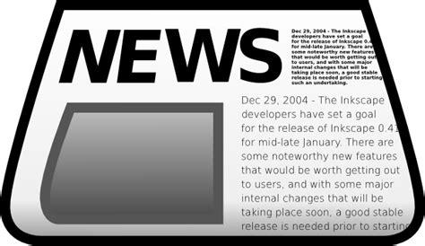 newspaper clipart newspaper clip at clker vector clip