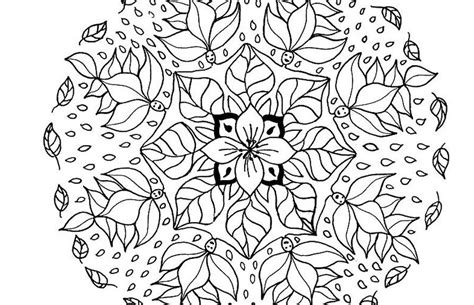 mandala designs coloring book free mandalas to print and color 25 medium image