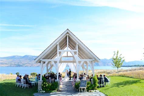 Wedding Ceremony Kelowna by Okanagan Unveils Destination Weddings Vacay Ca