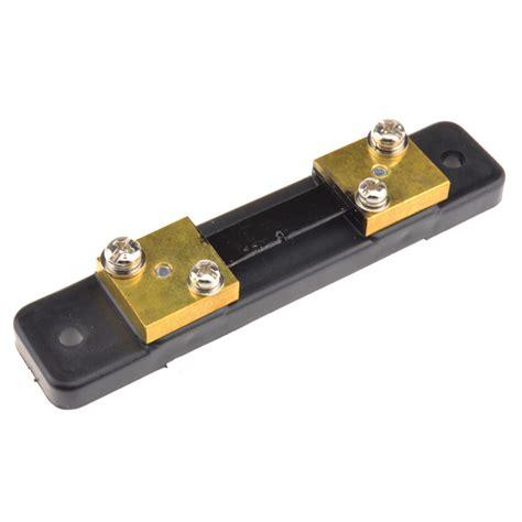 shunt resistor voltmeter fl 2 dc 75mv 50a current shunt resistor meter analog panel ammeter voltmeter ebay