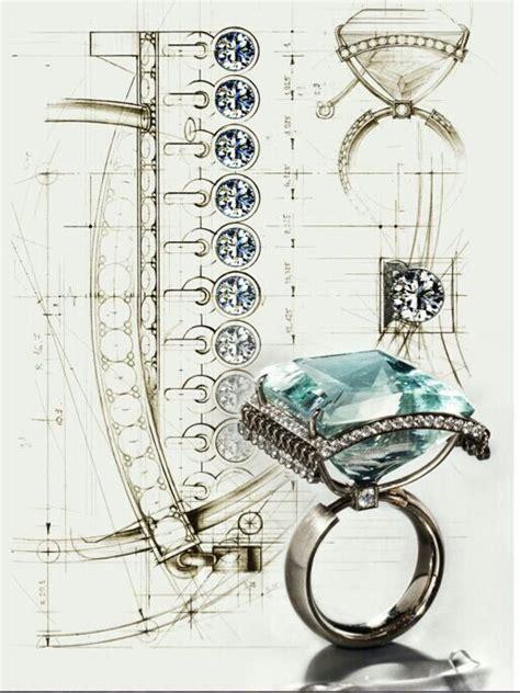 cadenas de oro raras rendering jewelry technical drawings pinterest