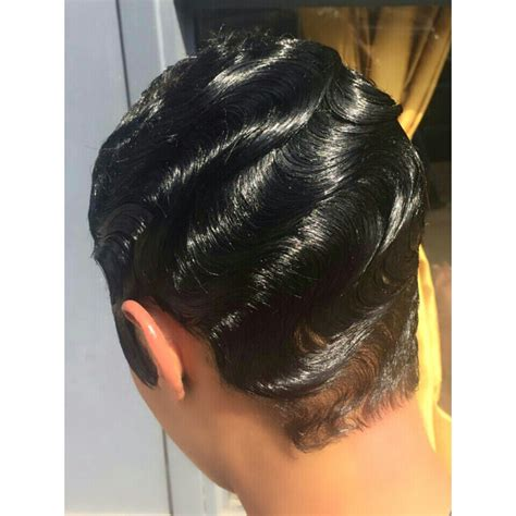 short ocean wave hairstyles finger waves black pinterest finger waves finger
