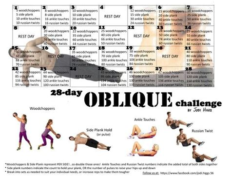 1000 images about my 30 day fitness challenges really