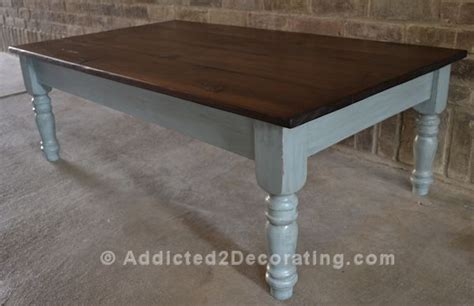 Coffee Table Makeover Pine Table Top Stained W Tea Stain Coffee Table