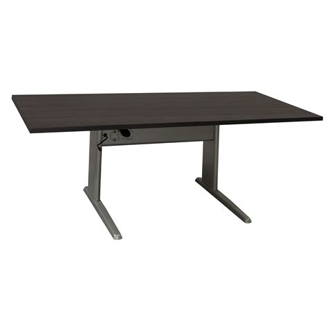 Ergotech Used 30 215 72 Adjustable Height Table National Used Adjustable Height Desk