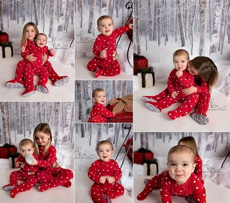 matching sister dresses for christmas dress white sled presents pajamas matching photos photography winter