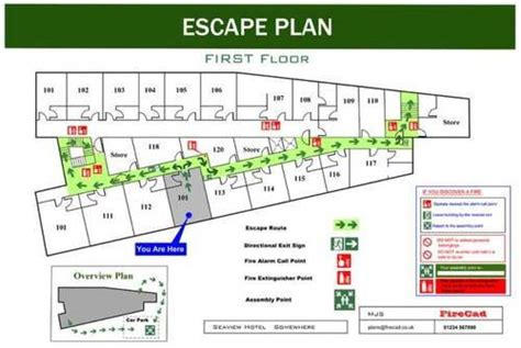 fire escape floor plan fire emergency plan singapore