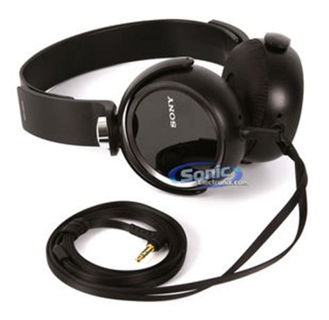 Headset Sony Mdr Xb400 sony mdr xb400 black on ear xb bass headphones mdrxb400 b