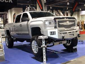Wheels Baja Truck 2014 2014 Sema Truck Trend Gmc Road Wheels