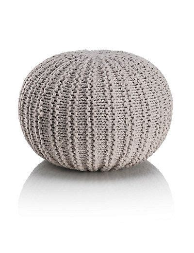 black knitted pouffe knitted pouffe lene thuis