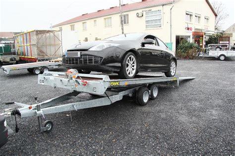 remorque porte voiture 3 essieux remorque porte voiture trigano pv pro 250 trigano pv pro