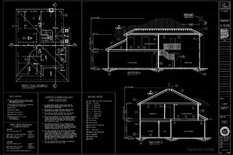 Two Story Home Floor Plans Autocad Drafting El Monte Pud General Home