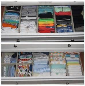 How To Organize A Dresser Drawer by Best 25 Organize Baby Clothes Ideas On