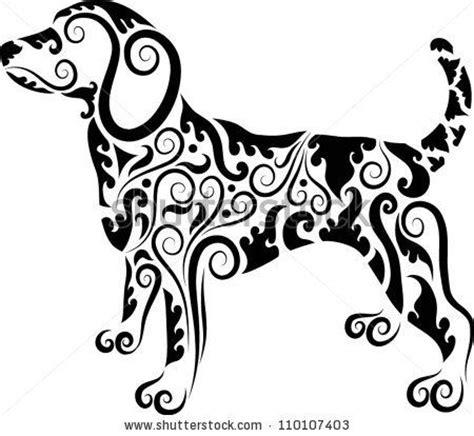 dog tribal tattoo tribal beagle my best friend