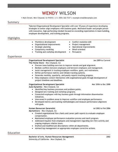 hotel general manager resume exle resume pinterest