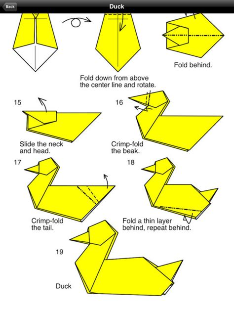 How To Make Origami Goose - free coloring pages make origami bird 101 coloring pages