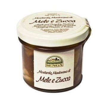 mostarda di zucca mantovana mostarda mantovana di mele e zucca 120 g prezzo e vendita