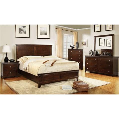 4 piece queen bedroom set furniture of america fanquite 4 piece queen bedroom set in