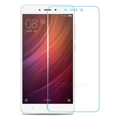 Tempered Glass Hp Xiaomi Redmi 4x dazzle colour tempered glass screen protector for xiaomi redmi note 4x free shipping dealextreme