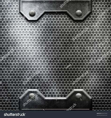 Metal Template Background You Can Find More Templates And Textures In My Portfolio Stock Photo Metal Template
