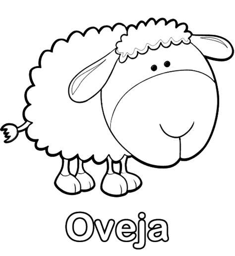 imagenes de animales por la letra w oveja y la letra o para colorear