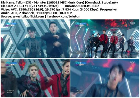 download mp3 exo lucky download perf exo lucky one monster mbc music core