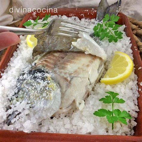 dorada a la sal microondas receta de dorada a la sal en el microondas divina cocina