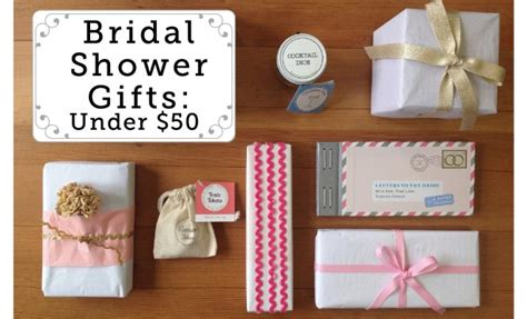 Bridal Shower Gift For In by Fabulous Unique Bridal Shower Gifts 50 Or Less