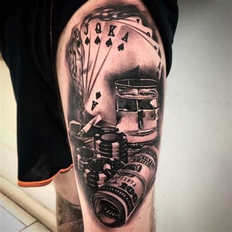 gambler tattoo designs tattoos designs ideas and meaning tattoos for you