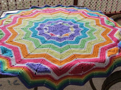 beginner s round ripple allfreecrochetafghanpatterns com round ripple crochet pattern easy crochet patterns