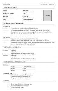 Plantilla Modelo Curriculum Funcional Plantillas De Curr 237 Culum Vitae Funcional Modelo 1 Fotograf 237 A Descubre M 225 S Ideas