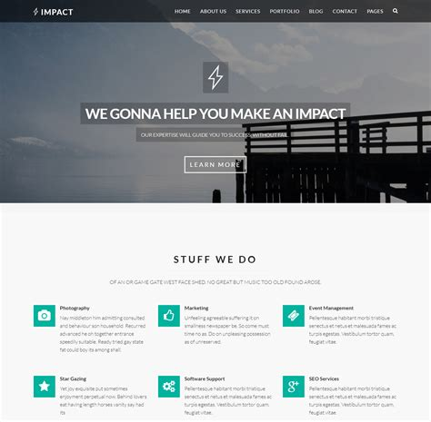 technology template best technology website templates for engaging
