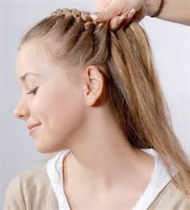 frisuren lange haare flechten anleitung haare flechten frisuren