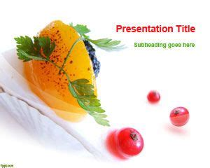 food themes for powerpoint 2007 free download free dessert powerpoint template