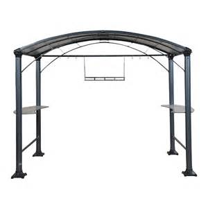 5 X 8 Canopy by Shop Shade Trends Grill Zebo Hammered Pewter Aluminum