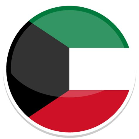 Icon Design Kuwait | kuwait icon round world flags iconset custom icon design