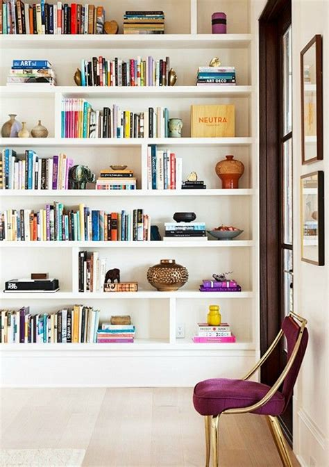 bookshelf styling ideas bright bold and beautiful