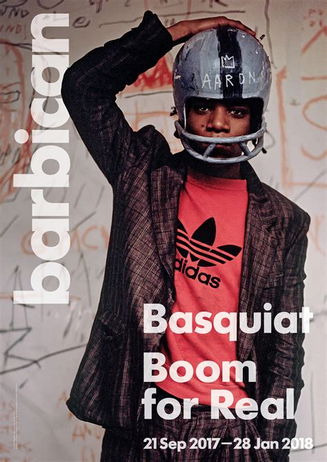 basquiat boom for real books basquiat boom for real exhibition poster barbican shop