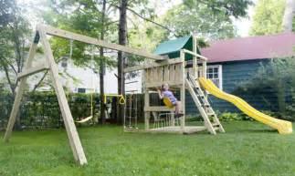 backyard playground traditional new york