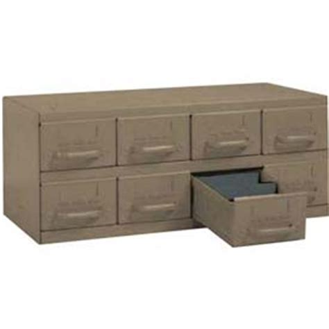 Equipto Drawers by Cabinets Drawer Equipto Cabinet W 8 Drawers 23 Quot W X 12 Quot D X 9 3 8 Quot H Textured Putty B799731